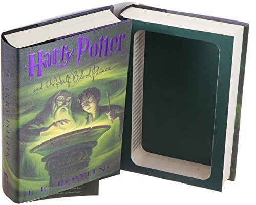 Real Hollow Book Safe - Harry Potter and the Half-Blood Prince by J.K. Rowling (Magnetic Closure)