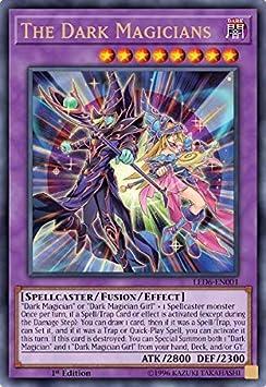 YuGiOh The Dark Magicians Super Rare ORICA PROXY REPLICA Edition Card LED6-EN001