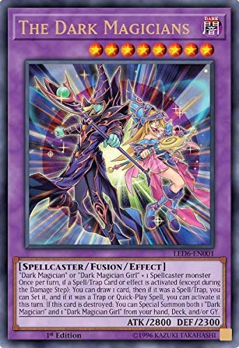 The Dark Magicians - LED6-EN001 - Ultra Rare - 1st Edition