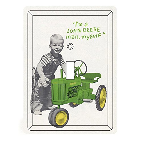 "John Deere ""I'm a John Deere man, myself"" Light Switch Cover"
