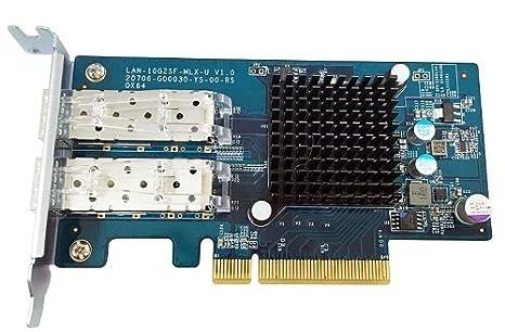 QNAP LAN-10G2SF-MLX Adaptador y Tarjeta de Red Fibra 10000 ...