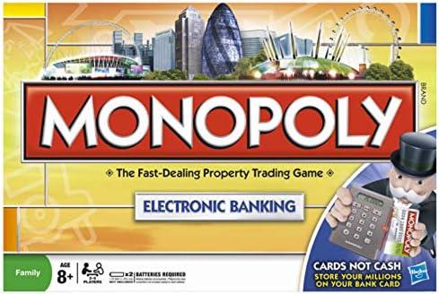 Edición Bancaria Electrónica Monopoly: Amazon.es: Juguetes y juegos