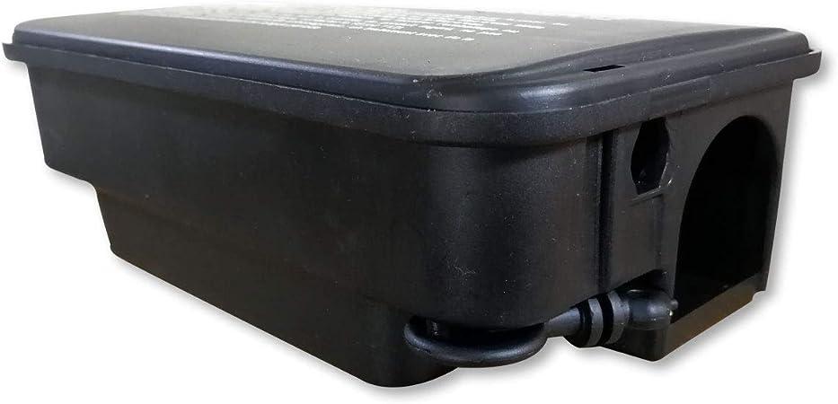 Caja de plástico con cierre con llave - Para asegurar el veneno ...