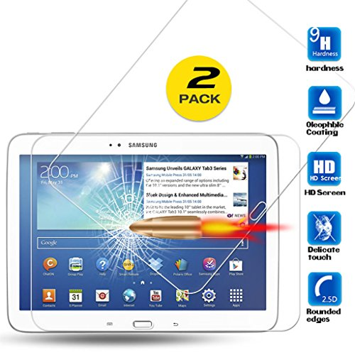 Tempered Glass For Samsung Galaxy Tab 3 10.1 P5200 (Clear) - 4