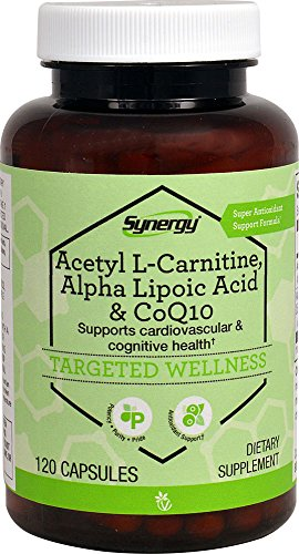 (Vitacost Synergy Acetyl L-Carnitine, Alpha Lipoic Acid & CoQ10 -- 120 Capsules)