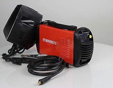 Soldador inverter Itamati MMA 200 EI: Amazon.es: Bricolaje y herramientas