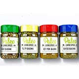 Paleo - Whole 30 - Keto - Spices by PALEO LIVING PRIMAL BLENDS Collection {4-Combo Pack Jars Seasonings Set} can be used…