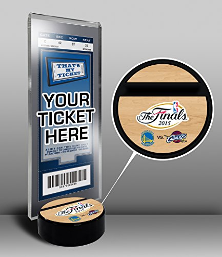 2015 NBA Finals Ticket Stand - Cavaliers vs Warriors by That's My Ticket
