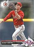 2017 Bowman Prospects #BP135 Mickey Moniak Philadelphia Phillies Baseball Card