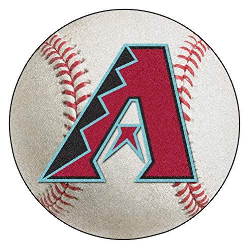 (FANMATS MLB Arizona Diamondbacks Nylon Face Baseball Rug )