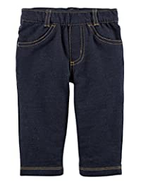 Carter's Baby Boys Pull Up Denim Jeans Soft and Comfortable 3-24 months