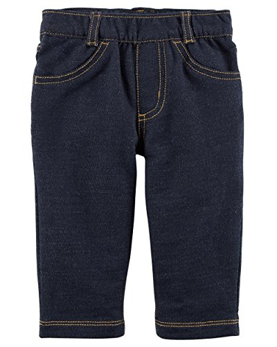 Carter's Baby Boys Pull up Denim Jeans Soft and Comfortable 3-24 Months (18 Months) (Carter Jeans)