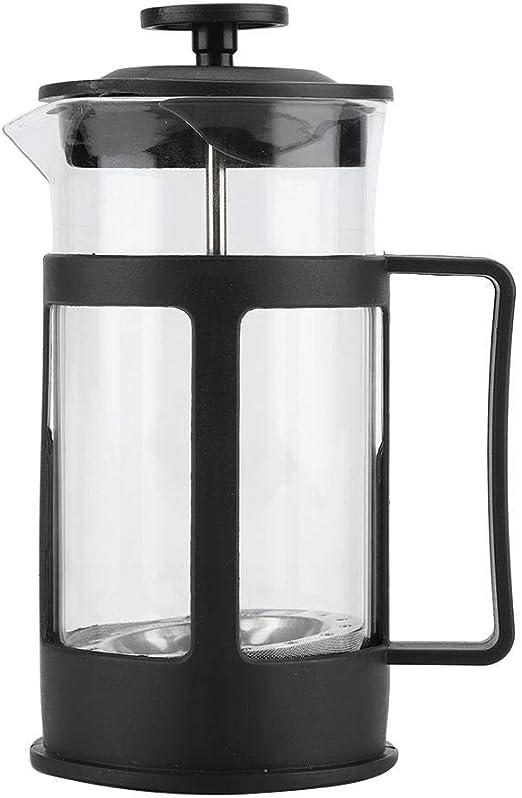 Lecxin Cafetera, cafetera de Acero Inoxidable Transparente ...