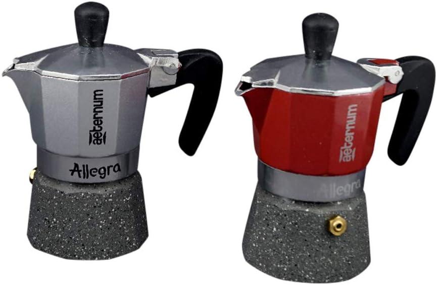 Cafetera 3 Tazas piedra Allegra: Amazon.es: Hogar