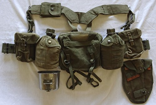 Lbe Harness - US Army Basic Field Gear Package VG