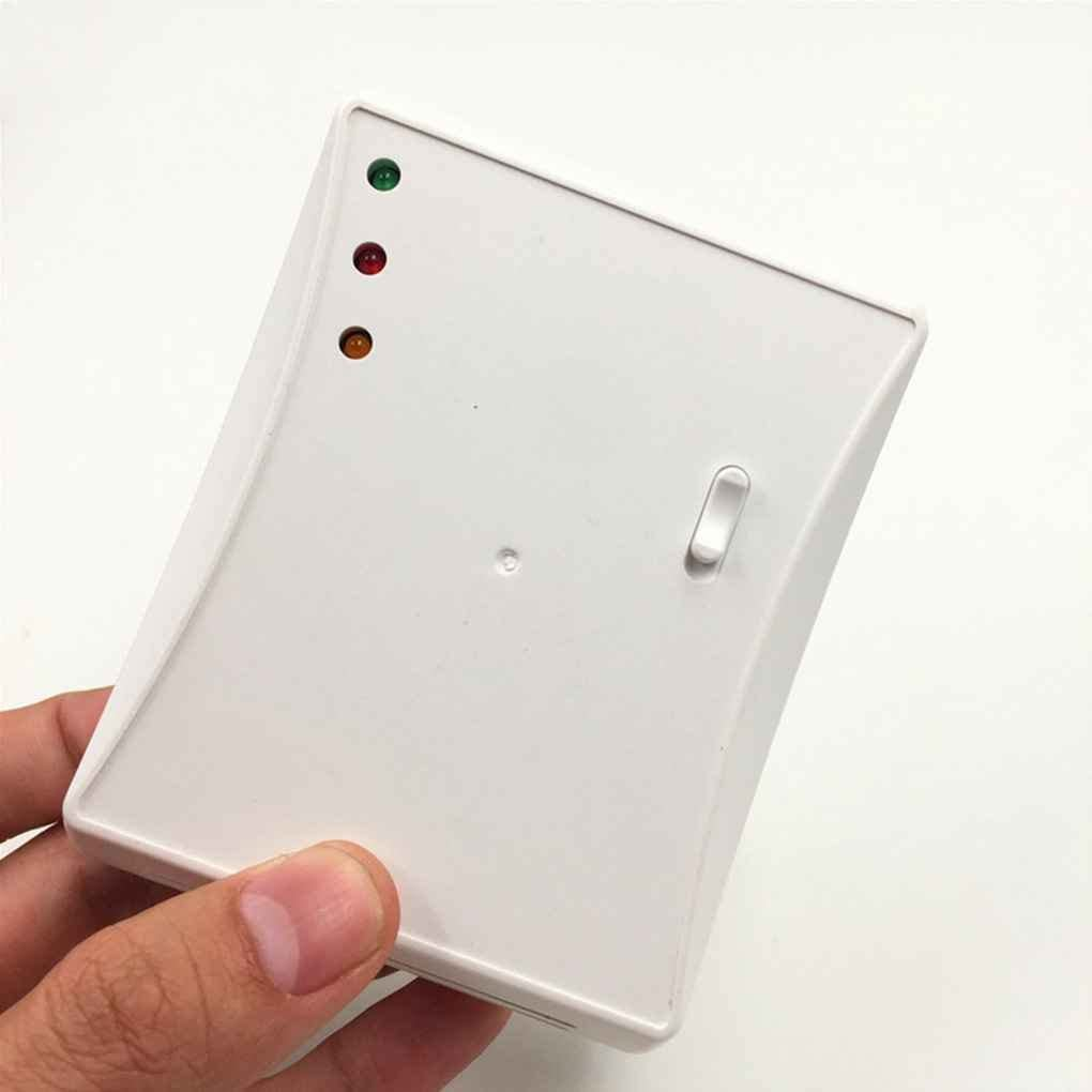 ELENXS Chaudi/ère gaz sans Fil 433MHz Thermostat RF Contr/ôle 5A Chaudi/ère Murale Chauffage Thermostat num/érique R/égulateur de temp/érature LCD