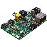 Raspberry Pi RBCA000 Model B - Placa base (ARM 1176JZF-S, 512 MB de RAM, HDMI, 2 x USB 2.0, 3,5 W)