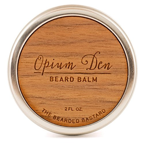 Opium Den beard Balm by The Bearded Bastard — Natural Beard Balm (2 oz)