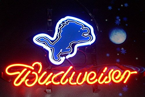 Detroit Lions Neon Sign (Desung Brand New 20