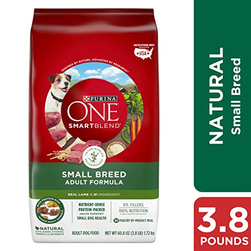 Purina ONE Natural Small Breed Dry Dog Food,...