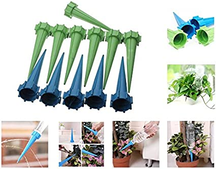 1pc Automatic Garden Cone Spike Watering Flower Irrigation Waterers B G8M1
