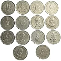Genuine Coins Gallery.14 Different Indian Coins