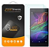 [3-Pack] Supershieldz for Razer Phone Tempered Glass Screen Protector, Anti-Scratch, Bubble Free, Lifetime Replacement Warranty