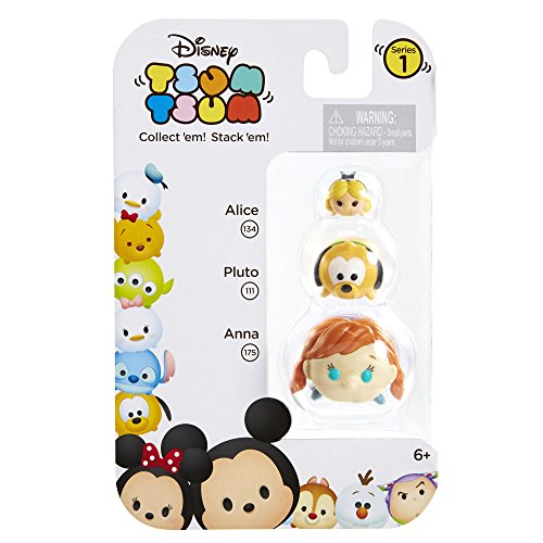 Tsum 3 Pack Figures Pluto Alice