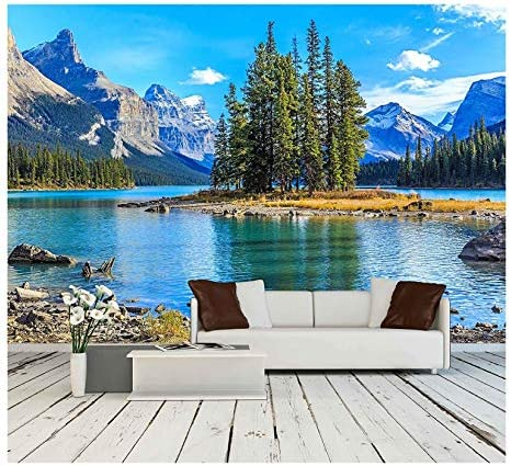 wall26 Maligne Removable Self adhesive Wallpaper product image