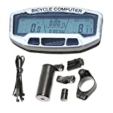 Durable Digital Bike Bicycle Computer LCD Odometer Speedometer Clock SD558A