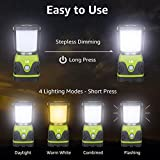 LE LED Camping Lantern, Battery Powered LED with