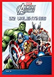Paper Magic 32CT Showcase Avengers Assemble Kids Classroom Valentine Exchange Cards