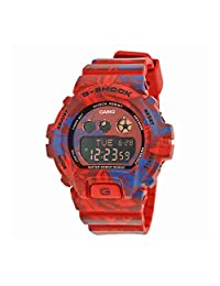 CASIO G-Shock S Series Red and Blue Swirl Unisex Watch GMDS6900F-4