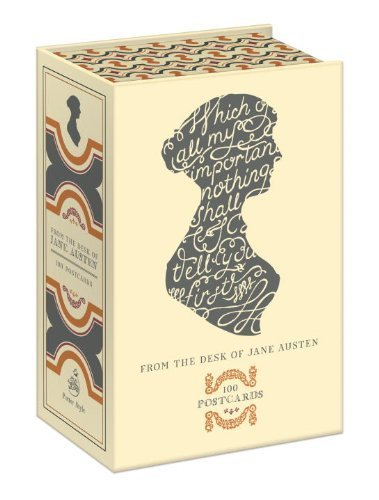 From the Desk of Jane Austen: 100 Postcards by Potter Style ...