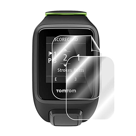 Amazon.com: boomprospect Smart Watch Screen Protector Film ...