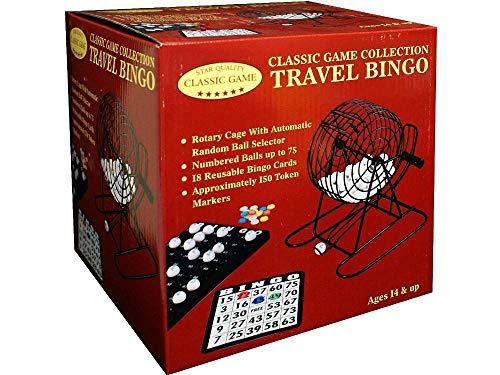 (Travel Bingo Game Set)