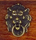 New Miniature Antique Lion Head Door Knocker beautiful