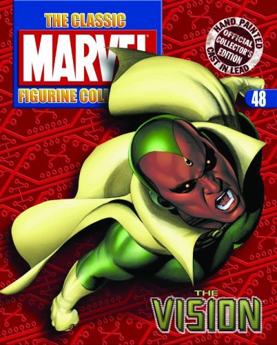 Classic Marvel Figurine Collection Magazine #48 Vision
