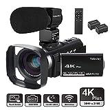 "Video Camera Camcorder 4K Ultra HD VideoSky YouTube Vlogging Camera 48.0MP 3.0"" Touch"