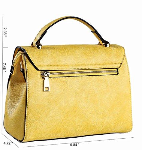 ROYAL WIND - Bolsa Mujer Amarillo - Yellow+Pink