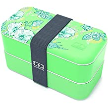 Monbento 37609192683265 MB Original Bento Lunch Box, Mint Floral