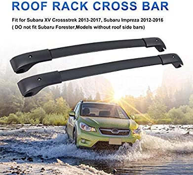 OE Style For Subaru Impreza /& XV Crosstrek Aero Roof Rack Rail Cross Bars Set US