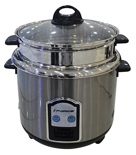 GForce GF-P1155-816- 8Cup (COOKED) Stainless Steel Rice Cooker