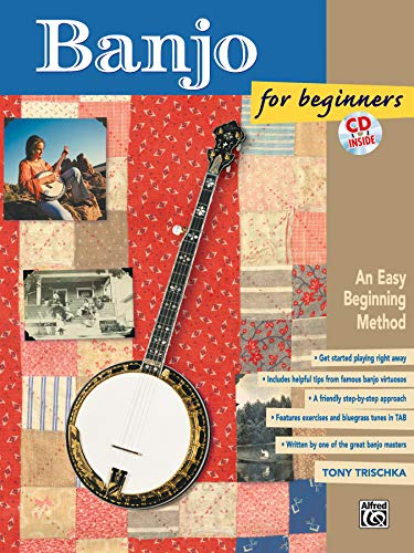 - Banjo for Beginners: An Easy Beginning Method, Book & CD