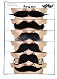 Moustaches for every occasion 6 party mix