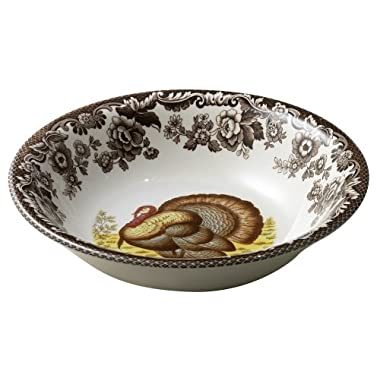 Spode Woodland Turkey Cereal Bowl