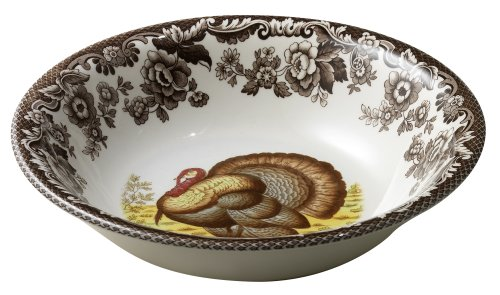 Spode Woodland Turkey Cereal Bowl