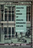 img - for Analysis and Design of Analog Integrated Circuits: 44th (fourth) edition book / textbook / text book