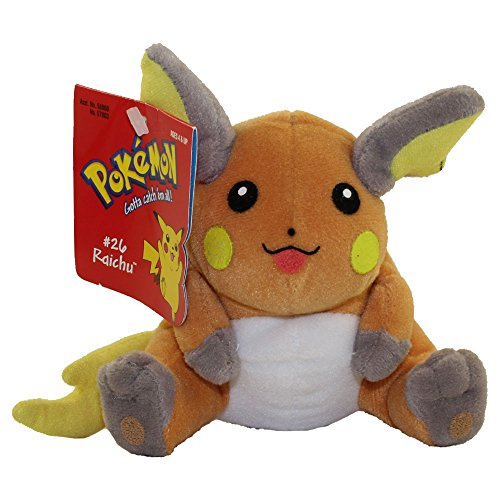 Hasbro Pokemon Bean Bag Plush - Raichu 26