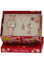 Ravel Little Gems Kids Puppy Dog Watch & Jewellery Gift Set For Girls R2218